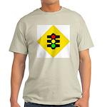 Traffic Light Ash Grey T-Shirt