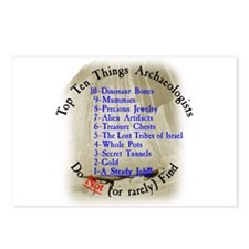 Top 10 Things Archaeologists Do Not (or rarely) Fi