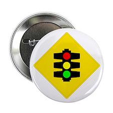 "Traffic Light Sign - 2.25"" Button (10 pack)"