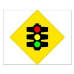 Traffic Light Sign - Small Poster