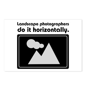 Landscape photographers do it Postcards (Package o
