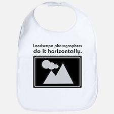 Landscape photographers do it Bib