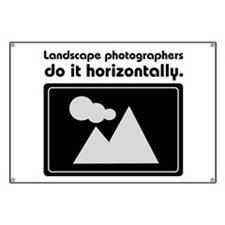 Landscape photographers do it Banner
