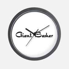 Giant Basher Wall Clock