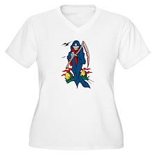 Death Grim Reaper Tattoo T-Shirt