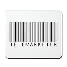 Telemarketer Barcode Mousepad