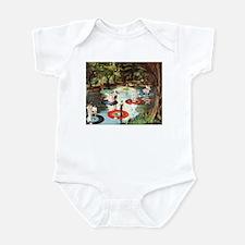 Phonograph/Record Player Infant Bodysuit