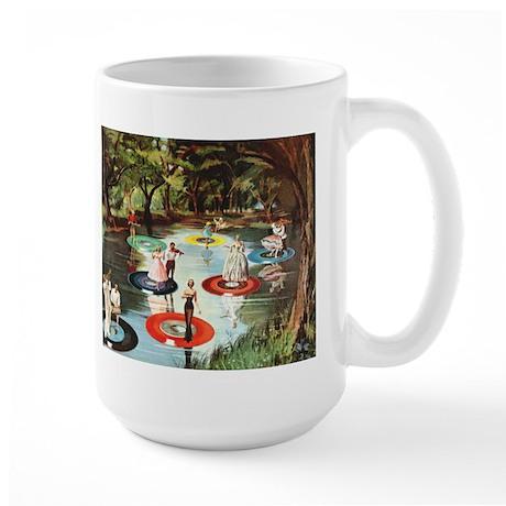 Phonograph/Record Player Large Mug