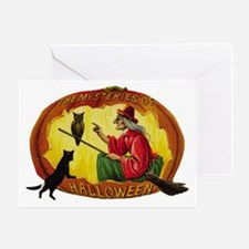 The Mysteries of Halloween Greeting Card