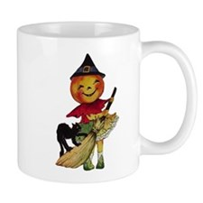 Pumpkin Witch Mug