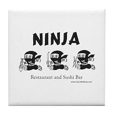Ninja Sushi of New Orleans - Tile Coaster
