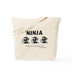 Ninja Sushi of New Orleans - Tote Bag