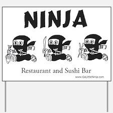 Ninja Sushi of New Orleans - Yard Sign