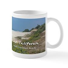 South Carlsbad Beach Small Mug