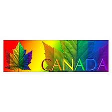 Gay Pride Bumper Stickers 10 pk Canada Souvenirs