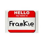 Hello my name is Frankie Rectangle Magnet (10 pack