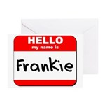 Hello my name is Frankie Greeting Cards (Pk of 20)