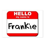 Hello my name is Frankie Postcards (Package of 8)