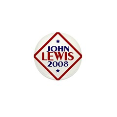 John Lewis 2008 1 Inch Button (10 pack)