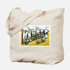 Kansas KS Tote Bag