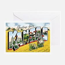 Kansas KS Greeting Card
