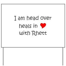 Rhett Yard Sign