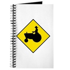 Tractor Crossing Sign - Journal