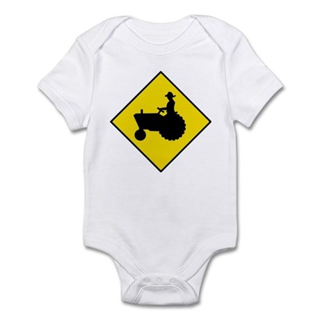 Tractor Crossing Sign - Infant Creeper