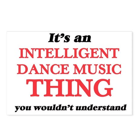 It's an Intelligent D Postcards (Package of 8)