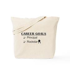 Principal Career Goals - Rockstar Tote Bag