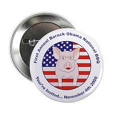 "Annual Barack Obama BBQ 2.25"" Button"