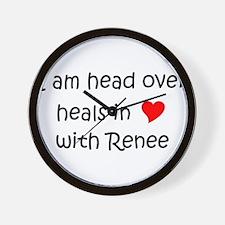 Unique Renee Wall Clock
