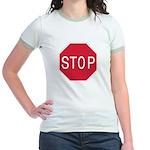 Stop Sign Jr. Ringer T-Shirt