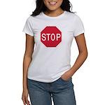 Stop Sign Women's T-Shirt