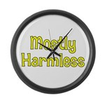 Harmless Large Wall Clock