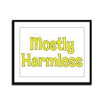 Harmless Framed Panel Print