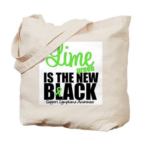 Lymphoma Lime Tote Bag