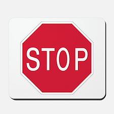 Stop Sign - Mousepad