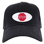 Stop Sign - Black Cap