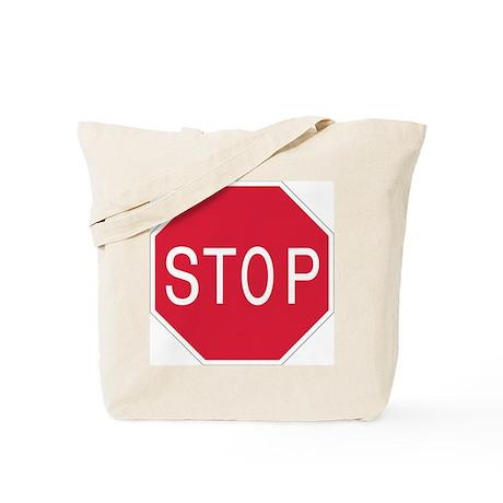 Stop Sign - Tote Bag