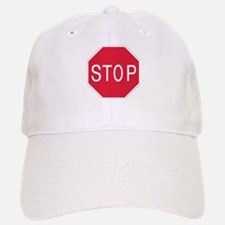 Stop Sign - Baseball Baseball Cap