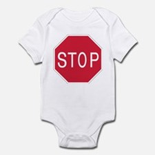 Stop Sign - Infant Creeper