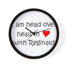 Funny I love reginald Wall Clock