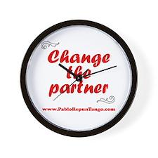 Change the Partner Wall Clock