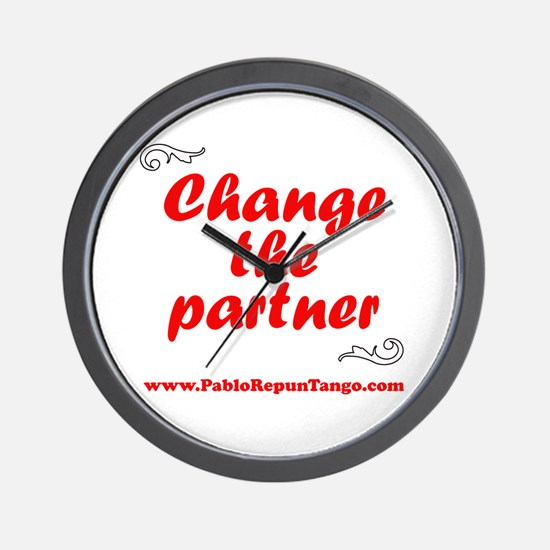Change the Partner Wall Clock