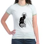 Basement Cat wants ur soul -Jr. Ringer T-Shirt