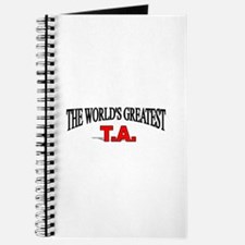 """""""The World's Greatest T.A."""" Journal"""