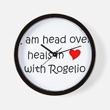 Cute Rogelio Wall Clock