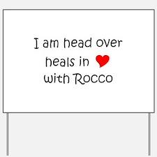 Cute Rocco Yard Sign