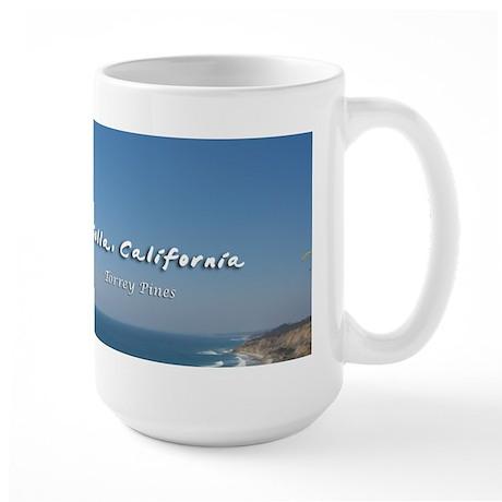 La Jolla, Torrey Pines Large Mug